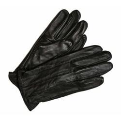 Svart damhandske i äkta lammskinn Black M