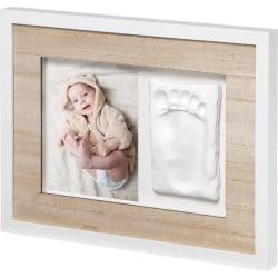 Baby Art Collageram med avtryck Tiny Style beige Beige
