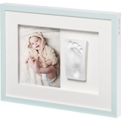 Baby Art Collageram med avtryck Tiny Style kristallvit Vit