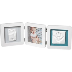 Baby Art Trippelram för foto och avtryck My Baby Touch vit Vit