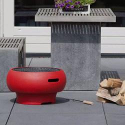 BBGRILL Portabel grill röd BBQ TUB-R Röd
