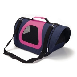 Beeztees Transportväska för hund Tarvico nylon blå 40x23x24 cm 7 Flerfärgsdesign