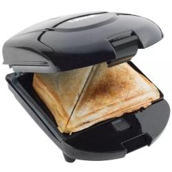 Bestron 3-in-1 Smörgåsgrill snacks- och våffeljärn 520W Svart AD Svart