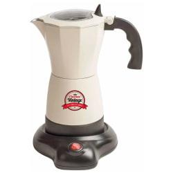 Bestron Espressobryggare AES500RE 6 koppar 480 W naturvit Vit