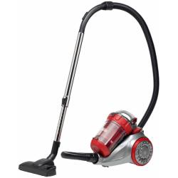 Bestron Påslös dammsugare Ecozenzo Plus röd och silver ABL930SR Flerfärgsdesign