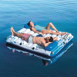 Bestway Badmadrass CoolerZ Side 2 Side Floating Lounge 43119 Vit