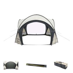 Bestway Lay-Z-Spa Kupoltält för spabad 390x390x255 cm Flerfärgsdesign