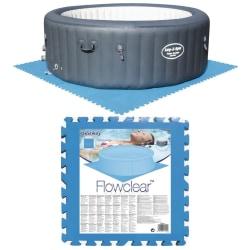 Bestway Skydd för poolgolv 8 st blå 58220 Blå