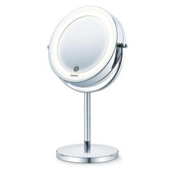 Beurer Sminkspegel med belysning 13 cm BS 55 Silver