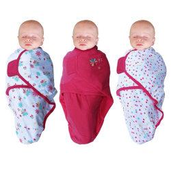 Bo Jungle Babyfilt blommig 3-pack rosa