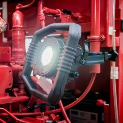 Brennenstuhl Bärbar hybrid LED-strålkastare DARGO 50 W IP65 Svart