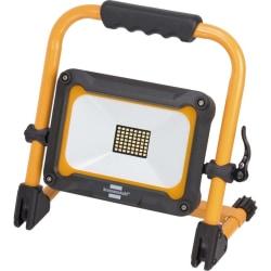 Brennenstuhl Bärbar LED-strålkastare batteri JARO 3000 MA IP54 3 Svart