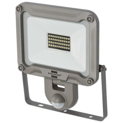 Brennenstuhl LED-strålkastare JARO 3000P PIR 30 W 10m IP44 Silver