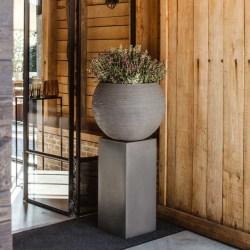 Capi Piedestal Urban Smooth 36x79 cm mörkgrå Grå