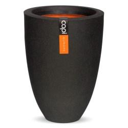 Capi Vas Urban Smooth 36x47 cm svart KBL782 Svart
