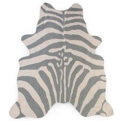 CHILDHOME Barnmatta 145x160 cm zebra grå Grå