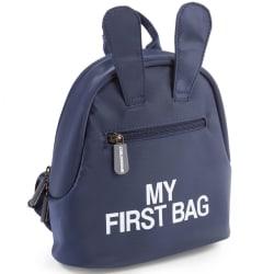 CHILDHOME Barnryggsäck My First Bag marinblå Blå