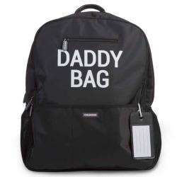 CHILDHOME Blöjryggsäck Daddy Bag 40x20x47 cm svart Svart