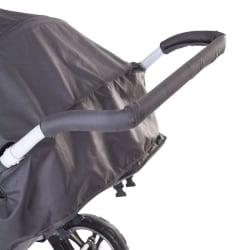 CHILDHOME CHILDOME Handtagsskydd till barnvagn skum svart Svart