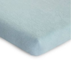 CHILDHOME Madrassöverdrag för lekhage 75x95 cm pastell mintblå Blå