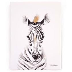 CHILDHOME Oljemålning 30x40cm zebra Vit