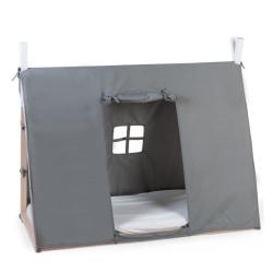 CHILDHOME Sängöverdrag tipi 70x140 cm grå Grå