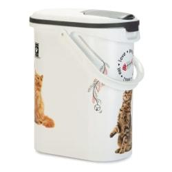 Curver Foderbehållare katt 10 L Vit