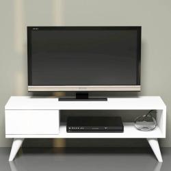 Homemania TV-bänk Maya 90x30x33 cm vit Vit