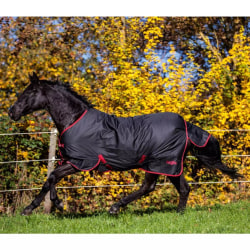 Kerbl Hästtäcke Outdoor RugBe Zero.1 165 cm 324497 Svart