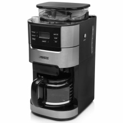 Princess Kaffebryggare & kaffekvarn Roma 1050W svart Svart