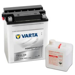 Varta Freshpack Batteri 12 V 14 Ah YB14-A2/ B2 Gr\u00e5