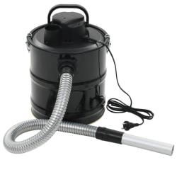 vidaXL Asksug med HEPA-filter 1000 W 20 L svart Svart