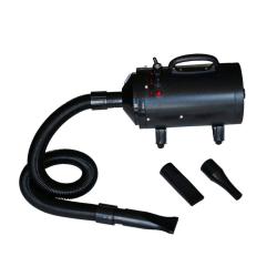 vidaXL Hundfön med 3 munstycken svart 2400 W