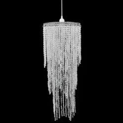 vidaXL Kristallkrona 26 x 70 cm Transparent