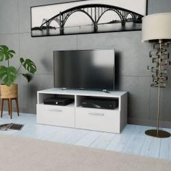 vidaXL TV-möbel spånskiva 95x35x36 cm vit Vit
