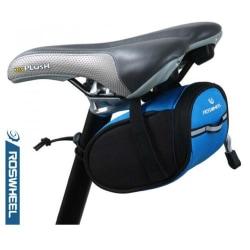 Cykelväska Roswheel ramväska (Svart/Blå) Blå