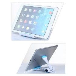 iPad surfplatta läsplatta ställ stativ hållare stort Blå