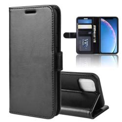 Mobilskal iPhone 11 plånbok (Svart och vit) Svart