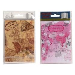 Passfodral - Passhållare - Passplånbok- Atlas Rosa