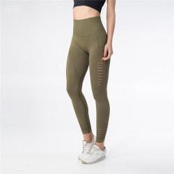 Yoga Pants - Tights - Gym - Träningskläder (Grön) S