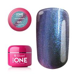 Base one - UV Gel - Chameleon - Charming Day - 01 - 5 gram multifärg