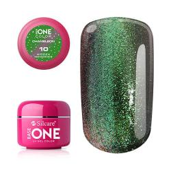 Base one - UV Gel - Chameleon - Hidden Memories - 10 - 5 gram Grön