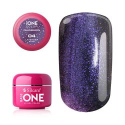 Base one - UV Gel - Chameleon - Lavender Kiss - 04 - 5 gram multifärg
