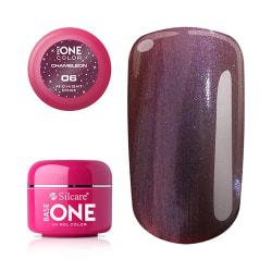 Base one - UV Gel - Chameleon - Midnight Rose - 06 - 5 gram multifärg