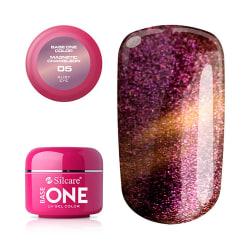 Base One - UV Gel - Magnetic Chameleon - Ruby Eye - 05 - 5 gram Röd