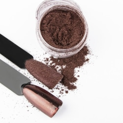 Effect Powder - Chrome / Glass - Brun