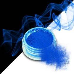 Effekt pulver - Smoke - Neon - Blå - 12