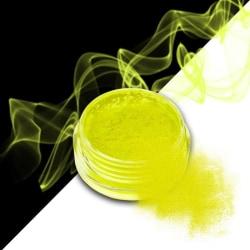 Effekt pulver - Smoke - Neon - Gul - 03