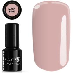 Hybrid Color IT premium - Hard Base - Dark Pink - Soak off - 6g LightPink