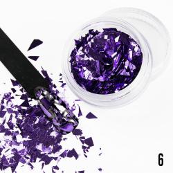 Nageldekorationer - Broken Mirror - 06